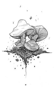 INKED .sketchbook by Omar Shammah, via Behance