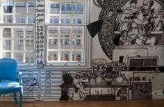Meravigliosi murales di Charlotte Mann