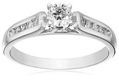 """Kobelli """"Je T'aime"""" Round Diamond Engagement Ring (1/2 cttw, H-I Color, I1-I2 Clarity), Size 6by Kobelli - See more at: http://blackdiamondgemstone.com/colored-diamonds/jewelry/kobelli-je-t39aime-round-diamond-engagement-ring-12-cttw-hi-color-i1i2-clarity-size-6-com/#sthash.RTbiJbZx.dpuf"""