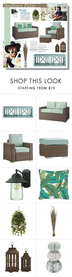 """""""Seafoam Patio 