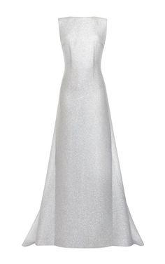 Emilia Wickstead s/s 2015 silver sparkles Jennifer dress