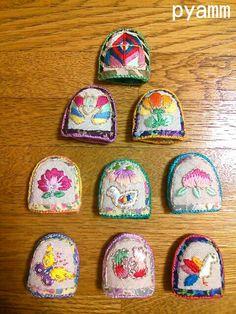 韓国刺繍のコルム。 - pyamm(*^^*)