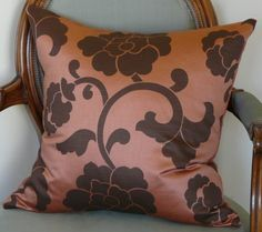 Deco Style Bold Floral Pillow Cover