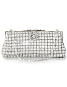 Silver Glitter Silk Womans Evening Bag. http://www.ourgreatshop.com/Evening-Bags-C769.aspx