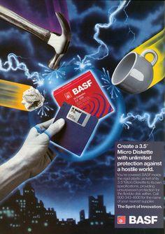 BASF Diskettes.