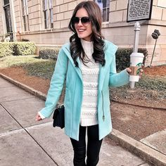 I'm ready for you Monday!  If you're looking for a coat this one is from last year but is still available in a few other colors and is on sale! http://liketk.it/2u9EF @liketoknow.it  #liketkit