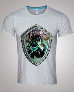 Dota 2 t shirt short sleeve for men Illidan Stormrage plus size tee summer wear-