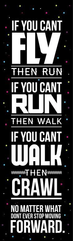 Keep moving forward. by Nick Edmonds, via Behance