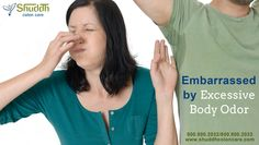 Embarrassed by Excessive Body Odor  more info- > http://shuddhcoloncare.com/services.html  #BodyOdor #Odor #Healthcare #Stinking