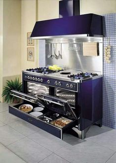 need this stove. This Stove. I want this stove. for the love of all that's holy. I want this stove. for the love of all that's holy. Dream Kitchen, Kitchen Stove, Kitchen Remodel, Kitchen Decor, New Kitchen, Home Kitchens, Kitchen Appliances, Kitchen Design, Purple Kitchen