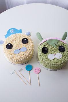 cutest Octonauts cakes! - Coco Cake Land