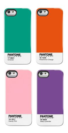 Pantone iPhone5 Cases