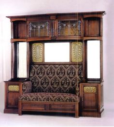 Home Decor Crafts Made in Glasgow I see a blending of Aesthetic Movement, early Art & Crafts Arts And Crafts For Teens, Art And Craft Videos, Art Nouveau Furniture, Antique Furniture, Antique Chairs, Art And Craft Design, Design Crafts, Muebles Estilo Art Nouveau, Art Decor