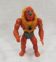 Beast Man He Man Masters of the Universe Plastic Toy Action Figure Mattel Inc 1981 by VintageEtcEtc on Etsy