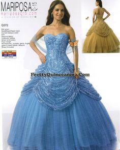 2010 Winter quinceanera dress,Strapless ball gown quinceanera dresses 372-6,discount designer quinceanera ball gowns,Light blue classical ball gown quinceanera dresses