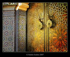 So detailed and intricate. A trip to Morocco is on the bucket list! @Ruben Seabra