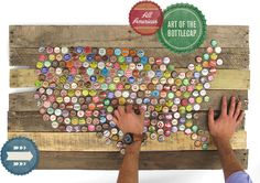 Bottlecap art ~ Fossil