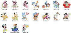 Coleção De Bordados Computadorizados Baby Disney - R$ 9,90 no MercadoLivre