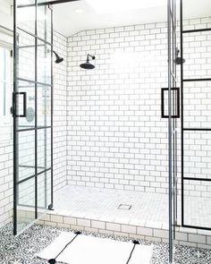Grafische badkamers om mee te pronken | Mrwoon