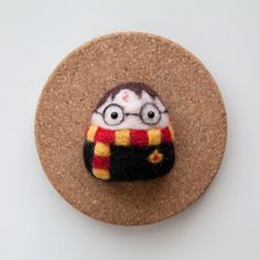 Harry Potter Needle Felted Konigiri by LeChibiMomo on Etsy