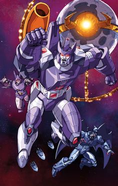 Galvatron and His Amazing Friends by Dan-the-artguy.deviantart.com on @deviantART