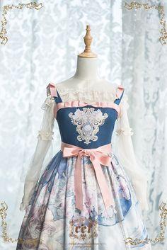 CEL Lolita Studio -The Sleeping Beauty- Lolita Jumper Dress