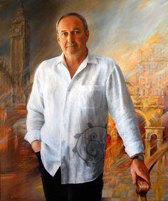 Male Portrait. Portrait Paintings, Portrait, Portraits