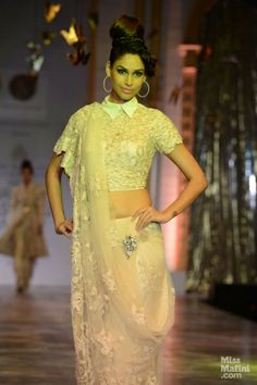 Neeta Lulla at India Bridal Fashion Week.
