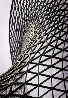Triangular geometries creating an abstract form | Architecture ...