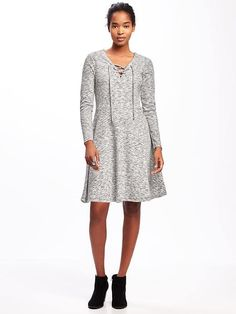 Lace-Up-Yoke Dress for Women Old Navy Dresses a81215026