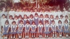 Kindergarten, St. Mary's College, Quezon City in 1980 #kasaysayan #pinoy #classpicture Saint Marys College, Quezon City, Class Pictures, Pinoy, Manila, Over The Years, Kindergarten, Memories, Memoirs