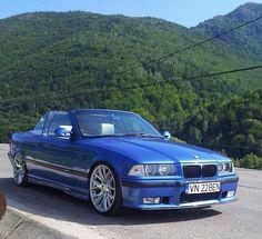 BMW E36 M3 cabrio blue