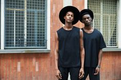 David Naman unveils its spring-summer 2016 collection with new images featuring…