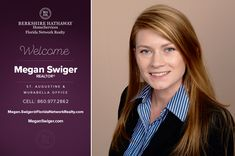 BERKSHIRE HATHAWAY HOMESERVICES FLORIDA NETWORK REALTY WELCOMES MEGAN SWIGER