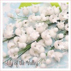 Lily Of The Valley Sugar Flowers