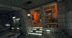 ArtStation - Blade Runner Inspired Apartment study, Rob Watkins