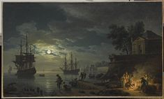 Claude-Joseph Vernet, Night