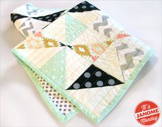 Janome Monday: Sparkly Baby Quilt | Sew4Home