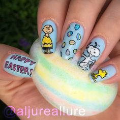 Charlie Brown Easter mani! I'm really excited about how this one turned out!! What do you think?