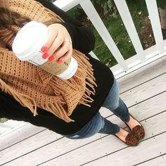 My fall look from the weekend! Ready for the temps... - Tay & Co