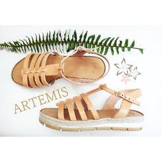 Artemis Sandals  #twiniñas #twininas #leather #natural #color #genuine #greekleather #fashion #girls #brand #new #now #summer #ladies #accessories #etsy #shop #etsyfind #artemis #greek #ancient #goddess #gladiator #nude #mousastreet #rubber #white #jute #sole #instadaily