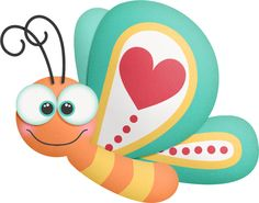 Cartoon Butterfly - ClipArt Best | BUTTERFLY'S | Pinterest ...