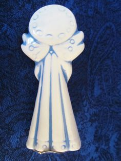 Vintage Ceramic Angel-made by an by NowAndThenConnection on Etsy