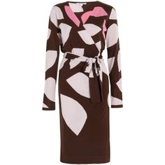 DIANE VON FURSTENBERG Richley Sweater Dress ($253) ❤ liked on Polyvore