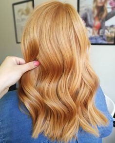 Pretty Fall Hair Colors for Blondes including Blonde balayage ombre, Dirty blonde, Orange to blonde Strawberry Blonde Hair Color, Red To Blonde, Blonde Color, Platinum Blonde, Strawberry Blonde Hairstyles, Ginger Blonde Hair, Reddish Blonde Hair, Copper Blonde Hair, Brunette Color