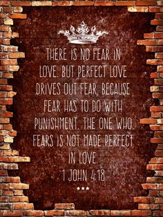 You cannot build any relationship on fear. So why would we treat our relationship with God that way?!?  We do not need to be scared of God. He created us. He loves us with a true love. He wants a healthy, loving relationship with us.  Love God with all your heart, soul, mind and strength. And let the perfect love cast out all fear. #theforgottenway #freedomtastesbetter
