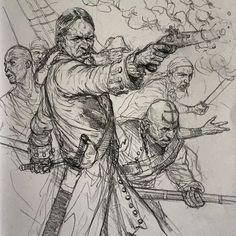 "Karl Kopinski, ""Pirate Crew"""