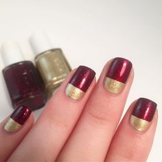 My Nails, Valentines Day, Nail Polish, Simple, Instagram Posts, How To Wear, Beauty, Valentine's Day Diy, Nail Polishes
