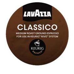 Lavazza Espresso Classico for Keurig Rivo System -- This is an Amazon Associate's Pin. Click the image to visit the Amazon website.