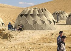 This is evident in the tent-like structures created by designer Abeer Seikaly. She has taken weaving to the next level with her 'Weaving a H...